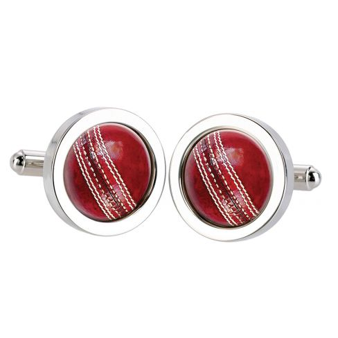 Cricket Seam Cufflinks