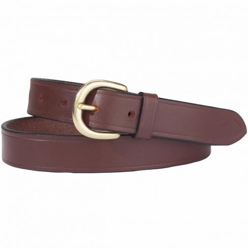 "Genuine Leather Belt 1"" Slim"