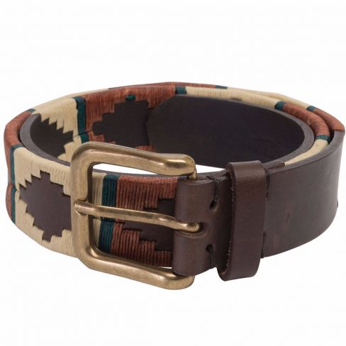 Men's Polo Belt - Rustic