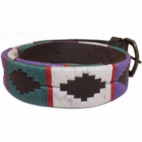 Polo Belts Blue/Green/Cream