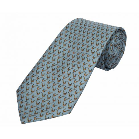 Silk Tie Bryn Parry Pheasant