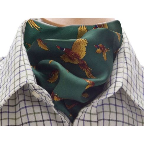 Silk Cravat - Green