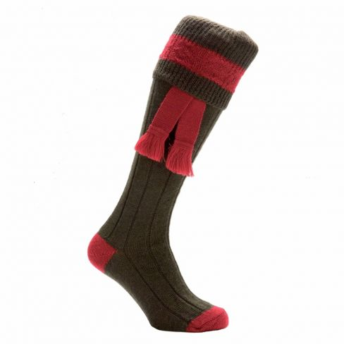 Boys Contrast Shooting Socks