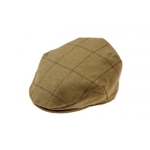 Alan Paine Kids Rutland Tweed Flat Cap