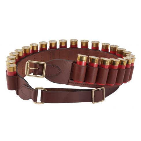 FFF Deluxe Leather Cartridge Belt