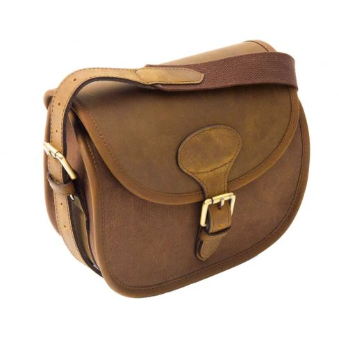 The Heritage Canvas & Leather Cartridge Bag
