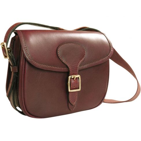 Leather Cartridge Bag - The Charlton