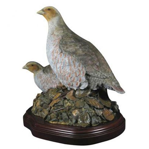Painted Partridge Pair