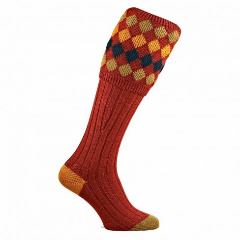 The Charlton Shooting Socks Maple