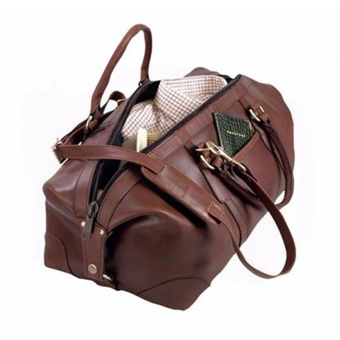 FFF Luxury Leather Travel Bags - Small
