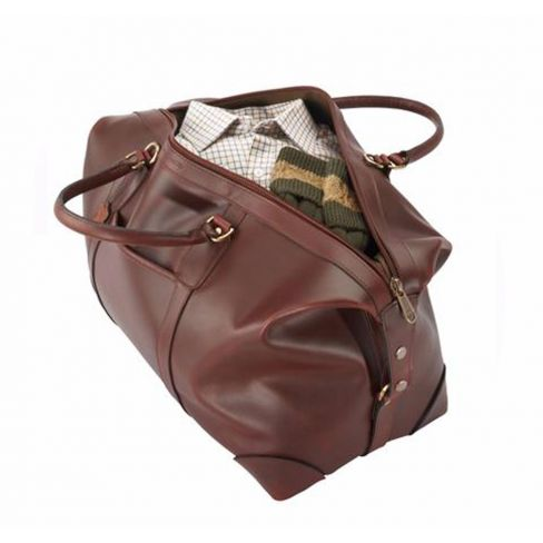 FFF Luxury Leather Travel Bags - Large
