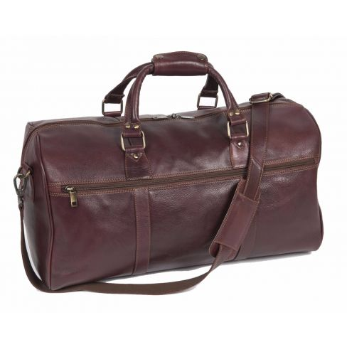 Leather Travel Holdall