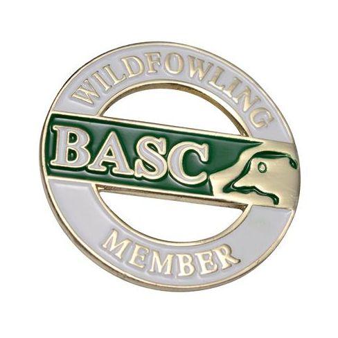 BASC Wildfowling Member Badge