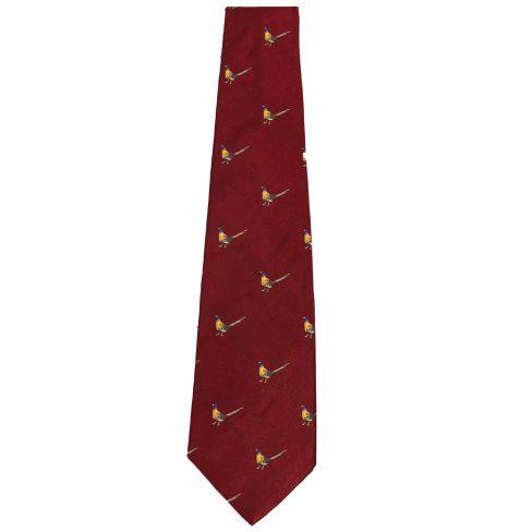 BASC Pheasant Silk Tie
