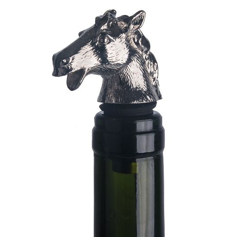 Drip Free Bottle Stopper / Pourer Horse