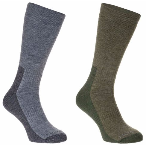All Terrain Hiking Socks Twin Pack Men's