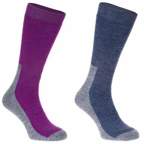 All Terrain Hiking Socks Twin Pack Ladies