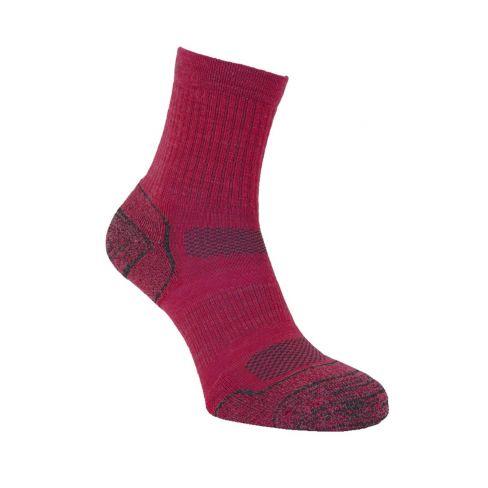 Alpaca Light Hiker Socks Rose
