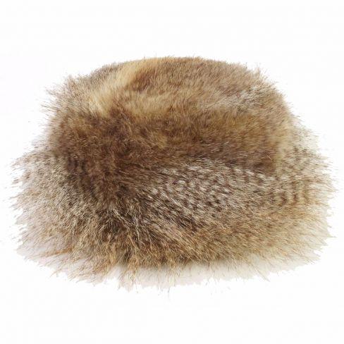Faux Fur Hat Siberian Wolf