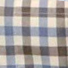 Percussion Classic Cotton Shirt - Brown / Blue Check