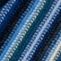 Lambswool Knitted Stripe Scarf Blue