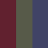 Pack of Three Sock Sets - Green, Navy, Maroon