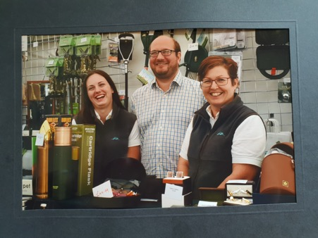 The Fur Feather and Fin team at the Midland Game Fair