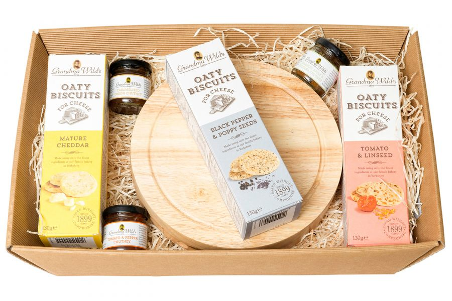 Chilgrove Cheese Hamper from Fur Feather & Fin