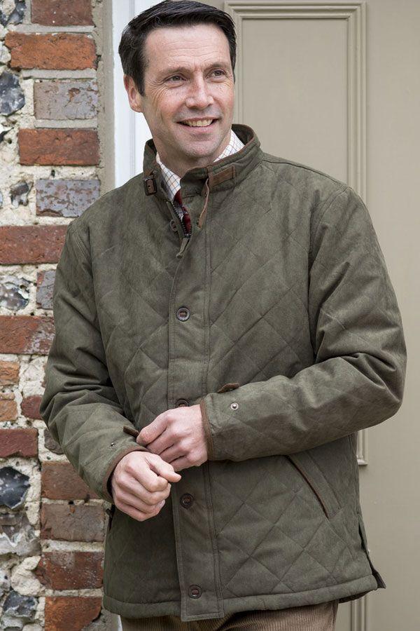 Alan Paine shooting jacket