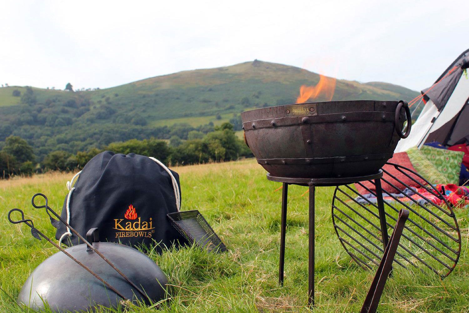 Travel barbecue grill