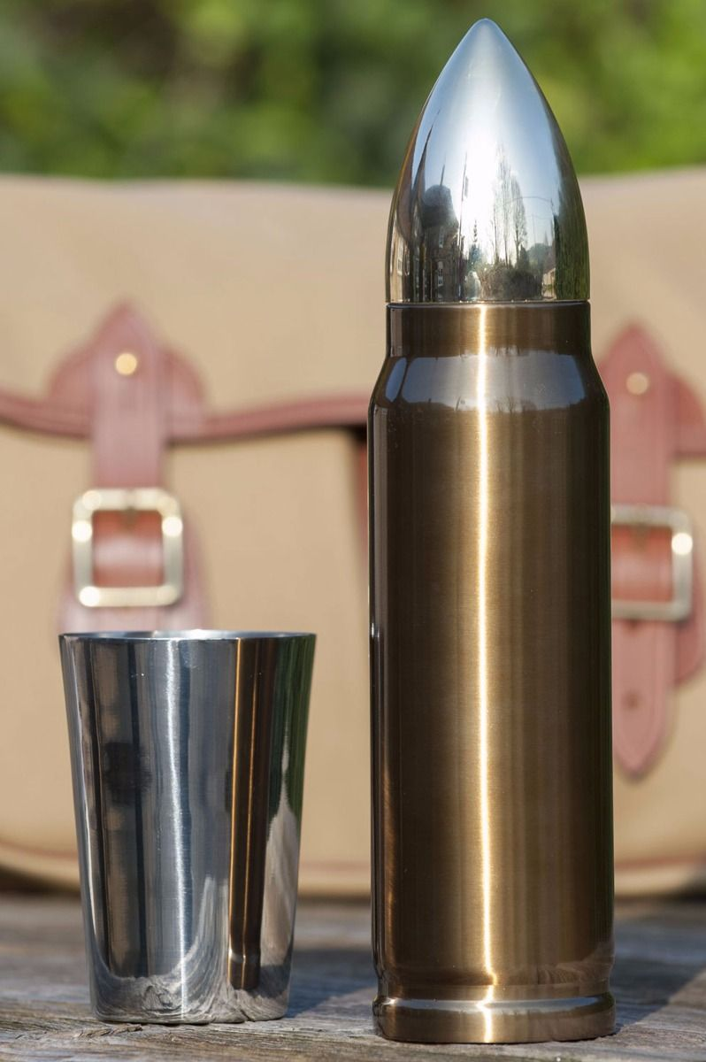 Bullet flask from Fur Feather & Fin