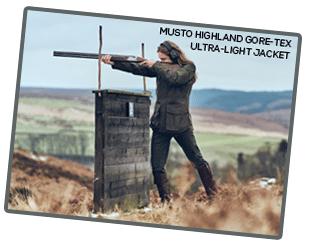 Musto Highland Gore-Tex Ultra-Light Jacket